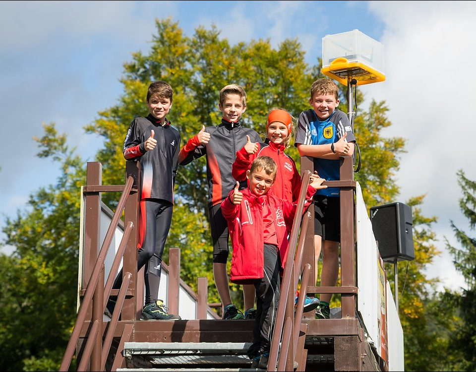 Björn Hönig (AK 14), Felix Schmidt (AK 12), Ben Straub (AK 9), Rosali Nussbicker (AK 10), Leon Straub (AK 14)